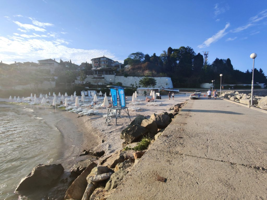 Plaża Nessebar