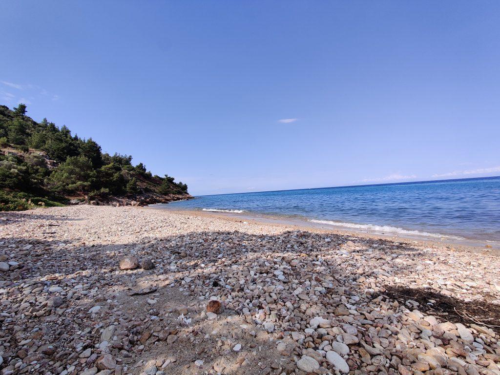 Dzika plaża Klisma South