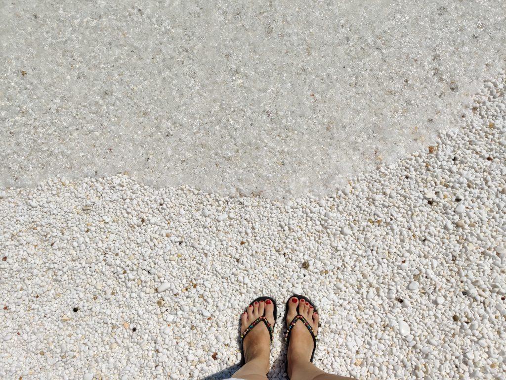 Plaża Saliara Thassos