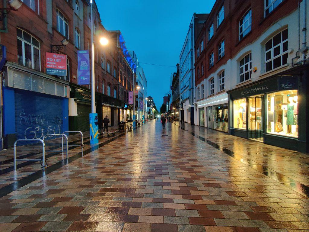 Belfast centrum