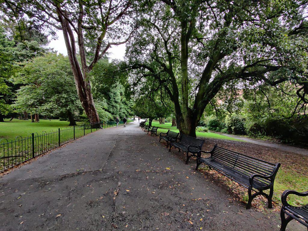 Belfast ogród botaniczny