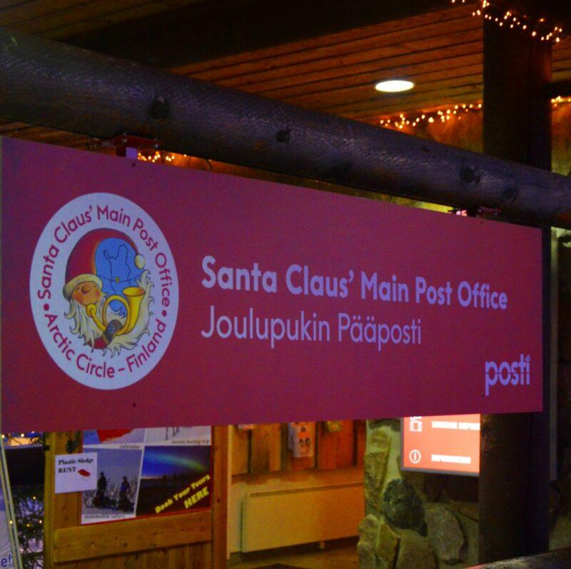 Poczta Świętego Mikołaja w Laponii (gdzie wysłać list)