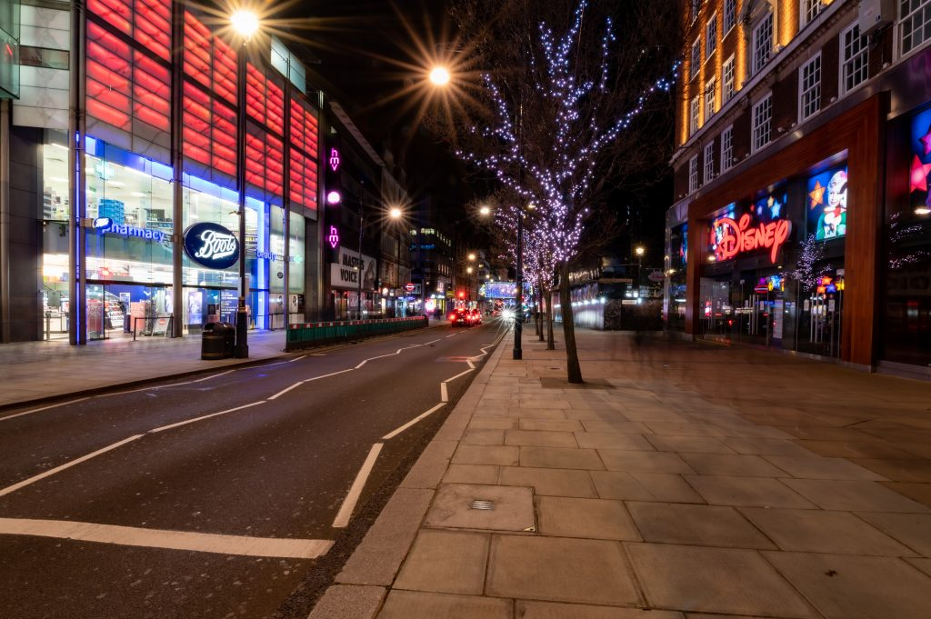 Londyn w święta
