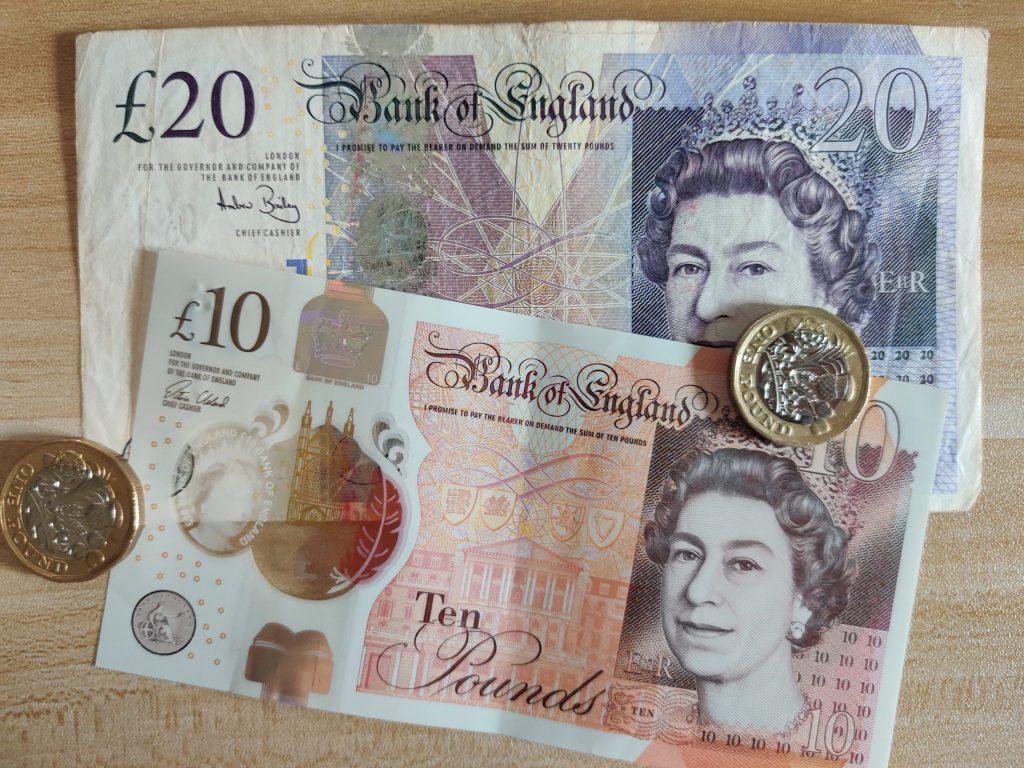Wielka Brytania waluta