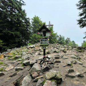 Łysica - najwyższy szczyt Gór Świętokrzyskich 614 m. n.p.m.