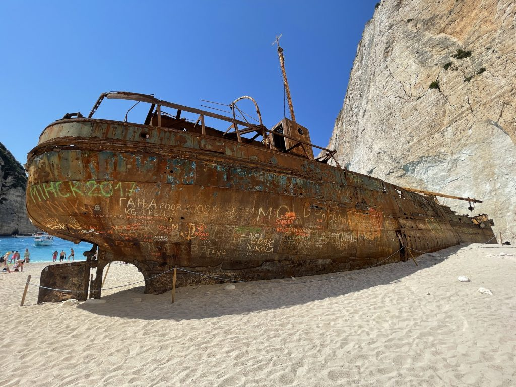 Navagio Zatoka Wraku Zakynthos